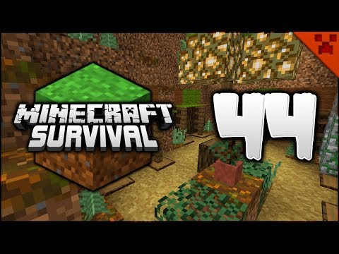 Minecraft Survival | Fortress Progress! NEW Marketplace! | Let's Play Minecraft Survival Episode 44