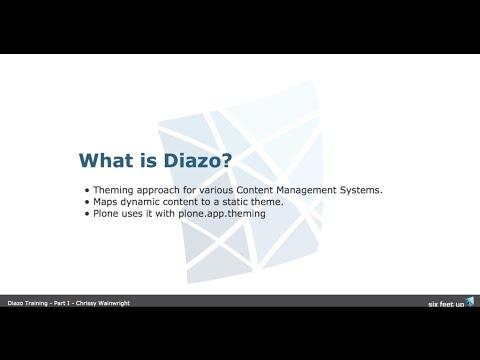 Intro to Diazo - Plone Theming