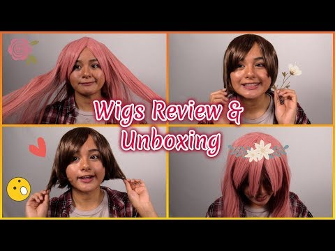 Trying On Wigs From Aliexpress