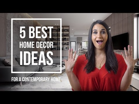 Interior Design Ideas and Tips for a Contemporary House Design | TOP 5
