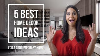 Interior Design Ideas and Tips for a Contemporary House Design | TOP 5