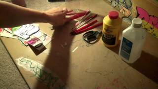 How To Make Graffiti Ink