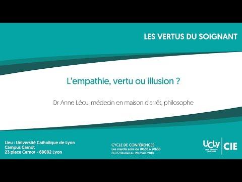 L'empathie, vertu ou illusion ? - Dr Anne Lécu