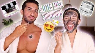 TESTING GLITTER MASKS + Q&A w/ My Boyfriend ♡