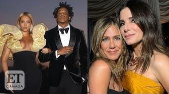 Sandra Bullock, Beyonce and Jay Z At Golden Globes