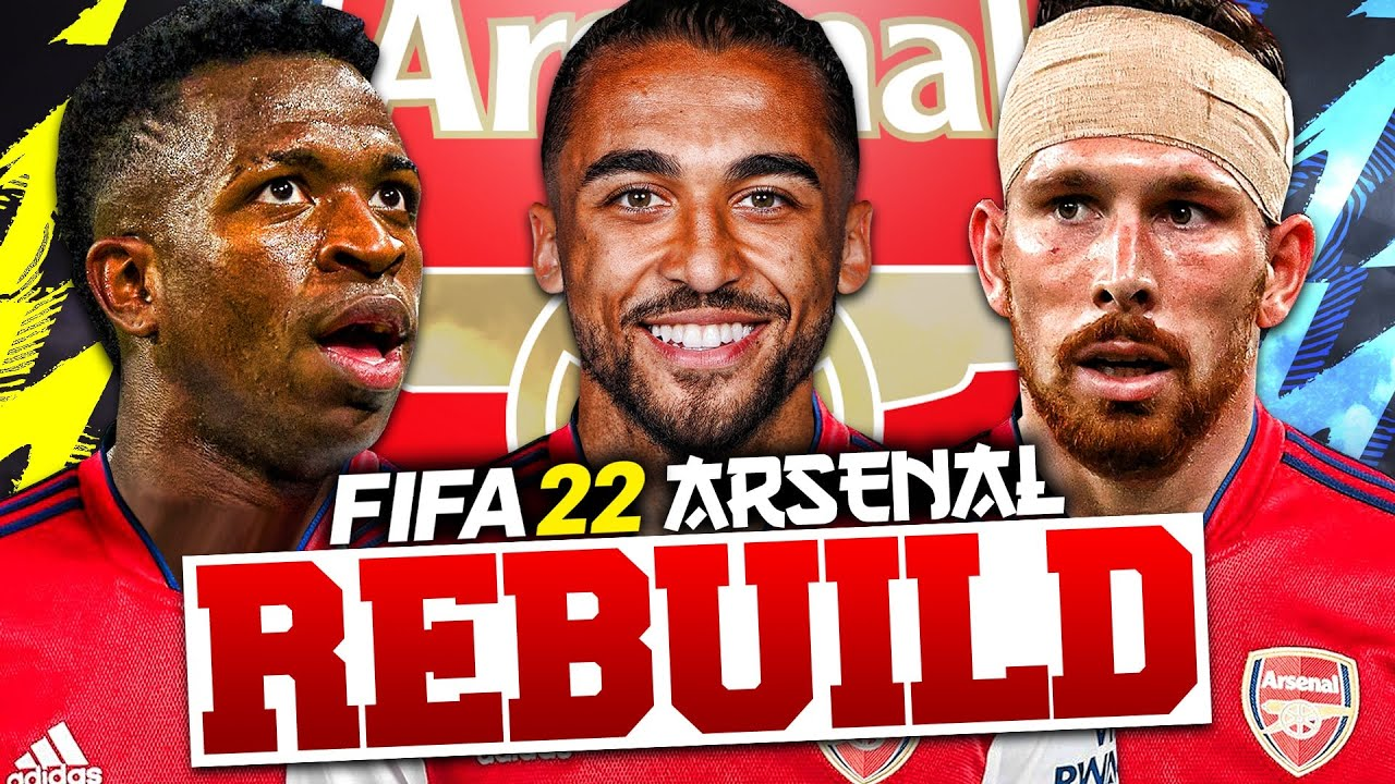 Download REBUILDING ARSENAL!!! FIFA 22 Career Mode