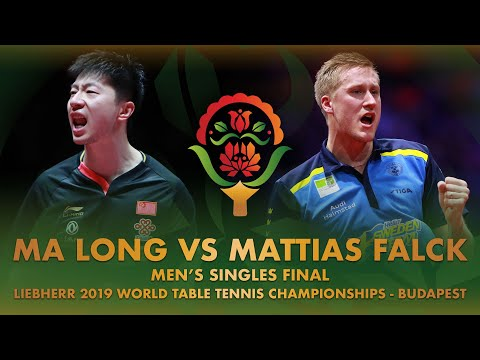 Ma Long vs Mattias Falck | Liebherr 2019 World Table Tennis Championships – Budapest