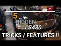 Download Video 5 HIDDEN LEXUS LS430 FEATURES you didn't know about!!