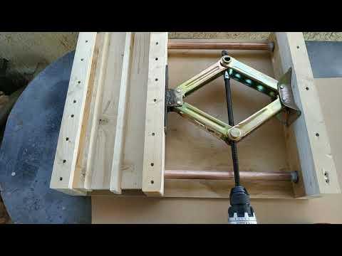 Diy Simple Wood Press & Bar Clamp