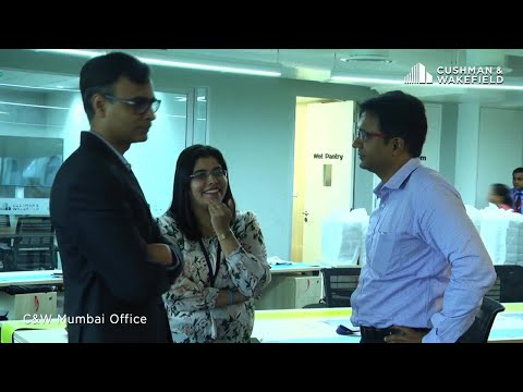 Cushman & Wakefield Moves to New Office Space in Mumbai