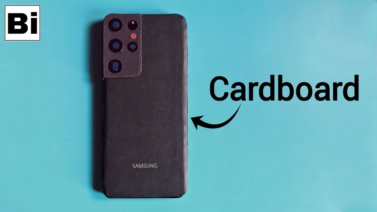 Samsung Galaxy S21 Ultra From Cardboard | How To Make