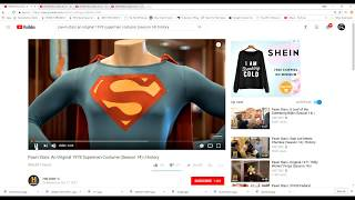 Mandela Effect (The Original 1978 Superman Costume Has CHRISTOPHER REEVES On the Tag!!)