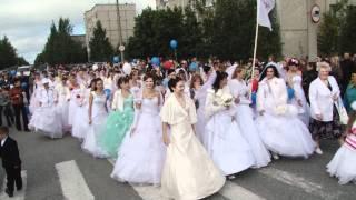 Парад невест в Ковдоре на 10-летие ЕвроХима