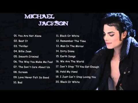 MICHAEL JACKSON Greatest Hits Full Album  Best of Michael Jackson