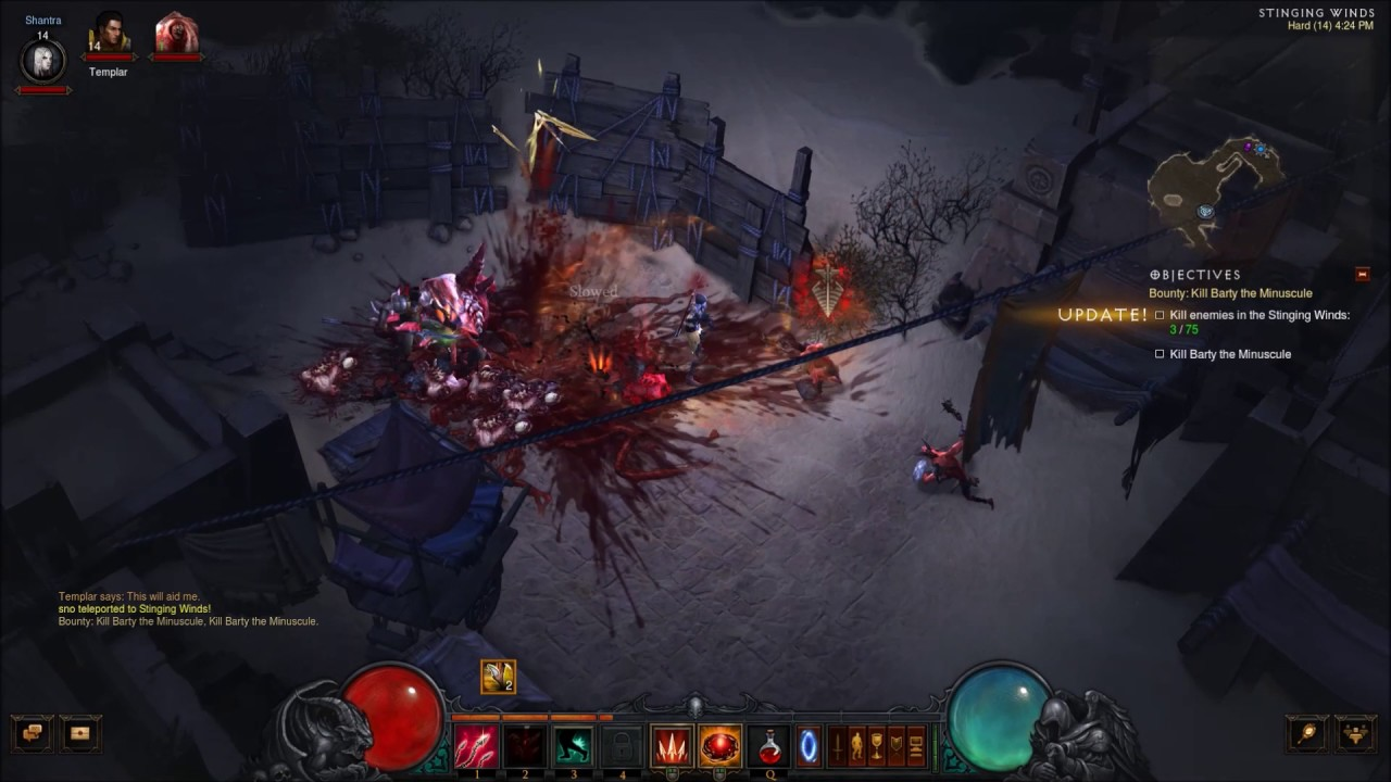Diablo 3 - Necromancer Gameplay (No Commentary, Levels 12-18) - YouTube