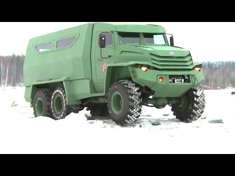 Industrie Russland - UAMZ Kolun 6X6 and Torus 4X4 Armoured Vehicles [1080p]