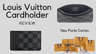 Louis Vuitton Neo Porte Cartes Review -- Wallet/Cardholder!