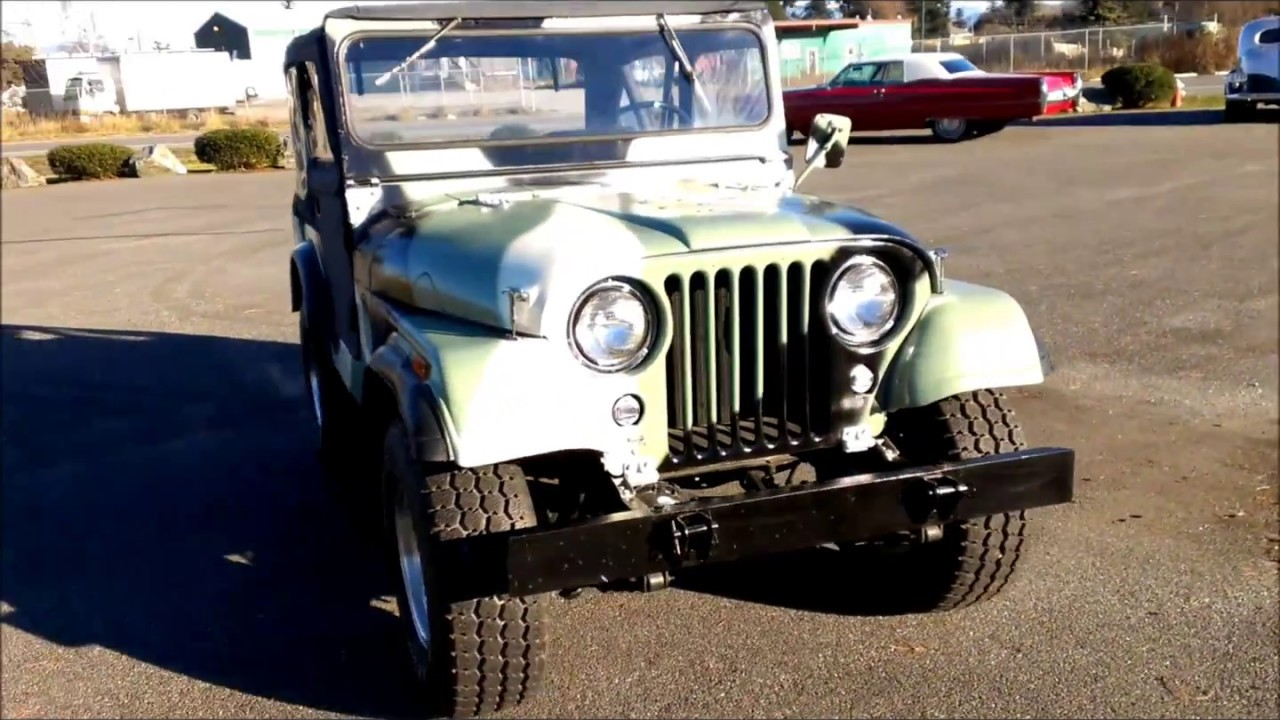 1953 Willys Jeep Cj3 Youtube Cj3b For Sale