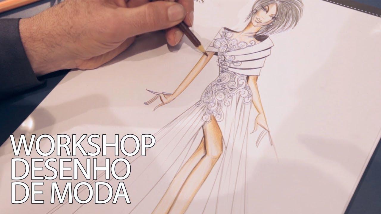 Workshop Desenho De Moda Grande Oportunidade Nea Santtana