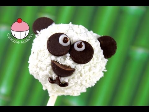 How To Make Panda Cake Pops A Cupcake Addiction Tutorial
