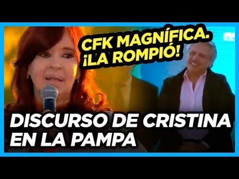 FENOMENAL Discurso de Cristina