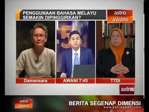 Penggunaan Bahasa Melayu semakin dipinggirkan?