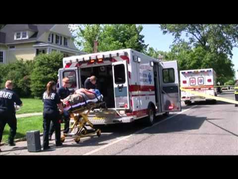 Glen RIdge High School Mock Drunk Driving Car Crash
