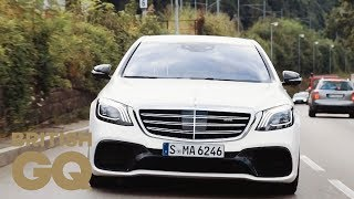 Mercedes-AMG S63 Test Drive in Germany | GQ Cars | British GQ