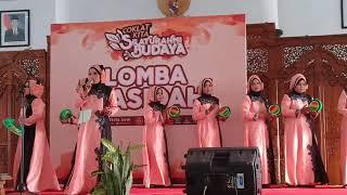 Qasidah Terbaik Juara 1 , Lagu Wajib Merdeka Membangun,Lagu Pilihan Y a Robbi Barik