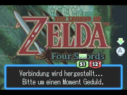 Let S Play Zelda Four Swords Blind German 01 Aus Ein Mach Vier