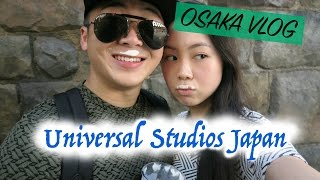 Osaka Vlog   Universal Studios Japan: Harry Potter World, Jaws, Pomme No Ki