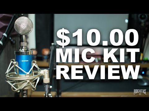 Zethydum Studio Broadcasting Mic Kit Review / Test