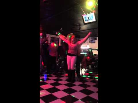Dancing girls at a club in Lawton, Oklahoma