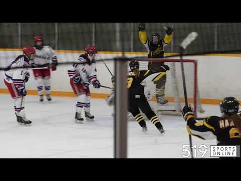 Midget AA Girls Hockey - Waterloo Ravens vs Kitchener Jr. Rangers from YouTube · Duration:  3 minutes 34 seconds