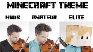 4 Levels of Minecraft Music: Noob to Elite
