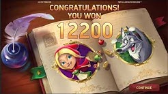 BIG WIN On Fairytale Legends Red Riding Hood Slot Machine