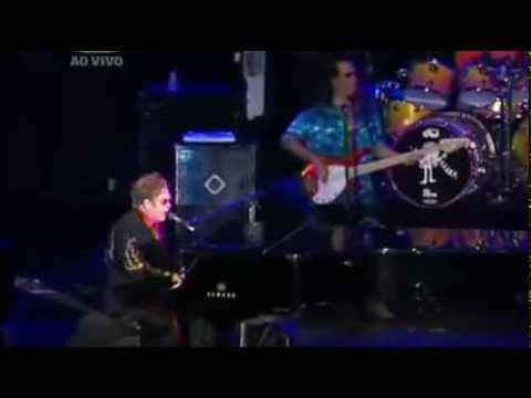 ELTON JOHN - LEVON - Rock in Rio 2011 - (HQ-856X480)