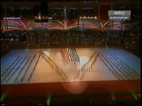 Opening Ceremony of Kuala Lumpur 1998 XVI Commonwealth Games - Selamat Datang