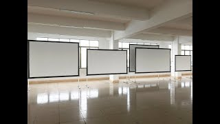 """80"""" 100"""" 120"""" Inch Portable Folding Frame Screen with Carry Bag from XY Screens"""