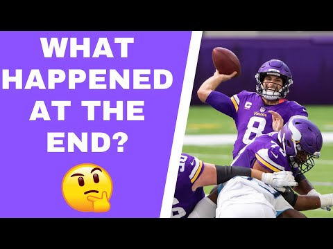 Did Kirk Cousins cause 'chaos' on Minnesota Vikings final drive?