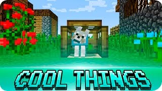 Minecraft - 8 Cool Things to Make in 1.9 Minecraft (Details / Furniture)