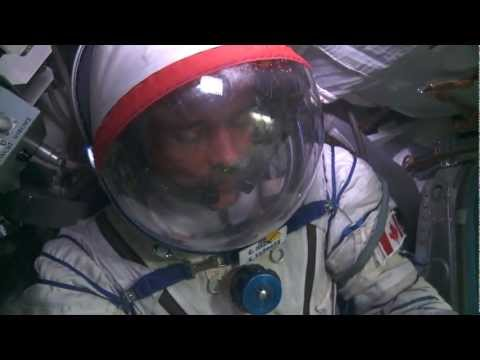 Canadian Astronaut Chris Hadfield Training in Russia