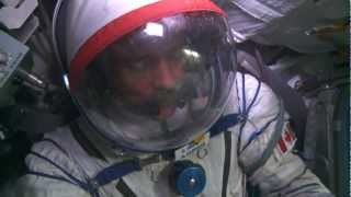 Canadian Astronaut Chris Hadfield Training in Russia