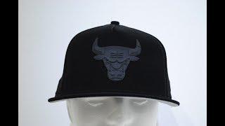 ff08527a756 New Era Chicago Bulls NBA Hooks Snap Back Cap Product Presentation By  CrimeClothing.co.uk