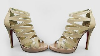 Свадебные туфли цвета айвори