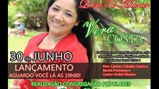 Vera Costa lança CD Gospel 30 de Junho em Limoeiro do Norte