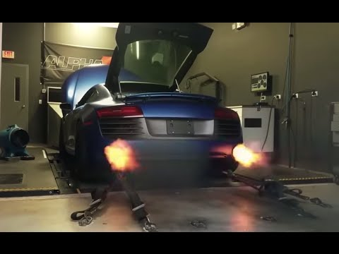 Alpha Twin Turbo Audi R8 - 1300+HP - AMS Performance