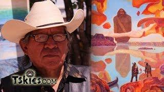 Meet Wallice Begay Traditinal Navajo Artist tskies