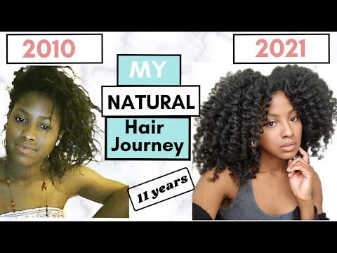 Journey to Long Natural Hair With Pictures