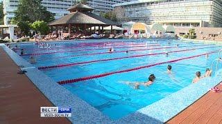В Гранд-отеле «Жемчужина» к курортному сезону обновили бассейн